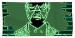 Electric Kanye West Graphic Hand Towel by Dan Sproul