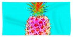 Electric Pineapple Hand Towel