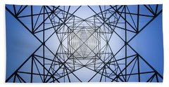 Electrical Symmetry Hand Towel