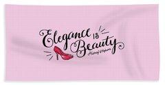 Elegance  Hand Towel by Elizabeth Taylor