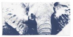 Elephant 4 Bath Towel