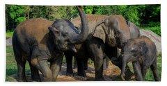 Elephant Cool Down Bath Towel