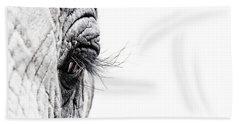 Elephant Eye Bath Towel
