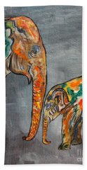 Elephant Play Day Hand Towel
