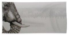 Elephant Tears Hand Towel