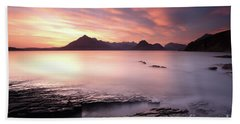 Elgol Sunset Bath Towel