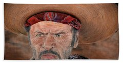 Eli Wallach As Tuco In The Good The Bad And The Ugly Version II Hand Towel