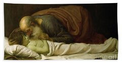 Elisha Raising The Son Of The Shunamite Hand Towel