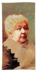 Elizabeth Cady Stanton, Suffragette Bath Towel
