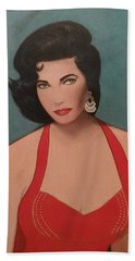 Elizabeth Taylor - Absolutely Beautiful Hand Towel