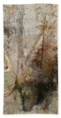 Bath Towel featuring the photograph Elk Bull Grazing by Suzanne Powers