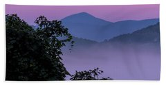 Hand Towel featuring the photograph Elk Knob by Tom Singleton