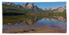 Elk Mountain Reflections Bath Towel