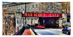 Ellicott City Hand Towel