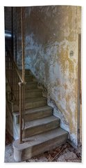 Ellis Island Stairs Bath Towel by Tom Singleton