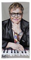 Elton John Hand Towel