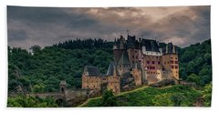 Eltz Castle Bath Towel by Martina Thompson