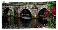 Elvet Bridge Durham City Uk Bath Towel