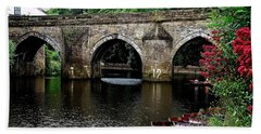 Elvet Bridge Durham City Uk Hand Towel