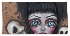 Elvira Hand Towel by Abril Andrade Griffith