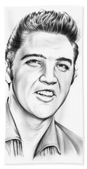 Elvis Hand Towel