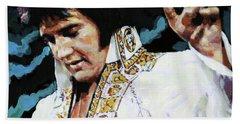 Elvis - How Great Thou Art Hand Towel