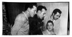 Elvis, Jerry Lee, Johnny Cash Sun Studio Memphis  Bath Towel