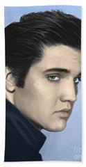 Elvis Hand Towel by Paul Tagliamonte