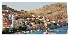Emborio Village On Halki Hand Towel