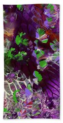 Emerald Butterflies Of Costa Rica Hand Towel