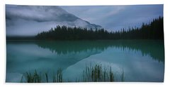 Emerald Lake Before Sunrise Bath Towel
