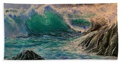 Emerald Sea Hand Towel