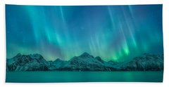 Emerald Sky Bath Towel