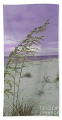 Emma Kate's Purple Beach Hand Towel