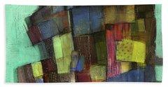 Colorful Hand Towel by Behzad Sohrabi