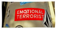 Emotional Terrorist In New York  Bath Towel