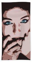 Emotive Pop Art Bath Towel