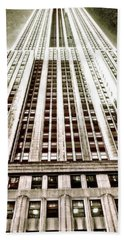 Empire State Building Bath Towel
