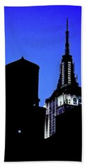 Empire State Building Bath Towel
