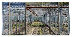 Empty Greenhouse Hand Towel