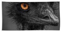Emu Hand Towel by Paul Freidlund