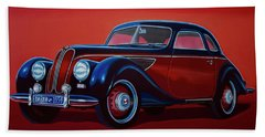 Emw Bmw 1951 Painting Hand Towel by Paul Meijering