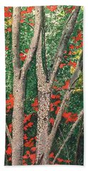 Enchanted Birches Bath Towel