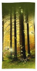 Enchanted Forest - Fantasy Art By Giada Rossi Bath Towel by Giada Rossi