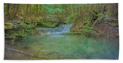 Hand Towel featuring the digital art Enchanted Forest Two by Randy Steele