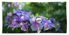 Bath Towel featuring the photograph Enchanted Hydrangea by Theresa Tahara