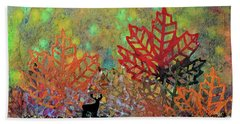 Enchanted Pathways Hand Towel by Donna Blackhall