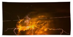 Enchanted Rock Lightning Hand Towel