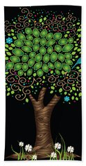 Enchanted Tree Hand Towel by Serena King
