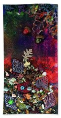 Enchanted Twilight Hand Towel by Donna Blackhall